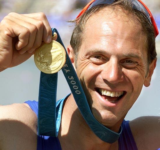 奥运历史巨星之赛艇名将雷德格雷夫:五届奥运都见金