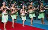 图文-大洋洲各岛国风情 库克群岛传统民族舞蹈