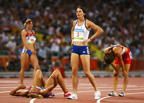 图文-[奥运]女子七项全能 完成比赛就很出色
