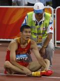 图文-[奥运]男110米栏半决赛 史冬鹏遗憾未能晋级