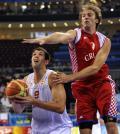图文-男篮西班牙72-59克罗地亚 莱亚斯遭遇封盖