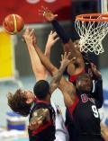 图文-美国男篮118-107西班牙 美国三大高手防加索尔