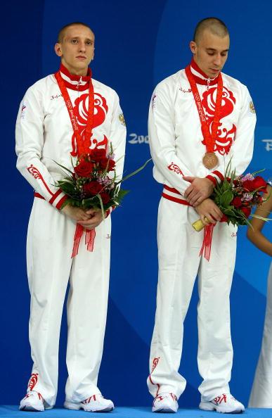 图文-男子双人10米台跳水 俄罗斯选手获铜牌