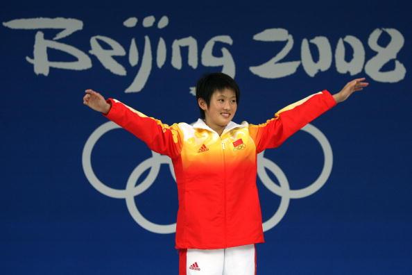 图文-奥运女子10米跳台决赛 陈若琳奥运夺冠