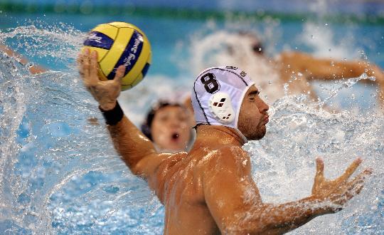 图文-奥运男子水球匈牙利队夺冠 水上射手!