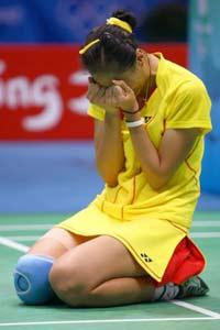 专访张宁:四年我付出太多太多羽球是我热爱事业