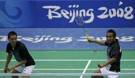 图文-奥运会羽毛球赛12日精选 陶菲克领衔印尼出战