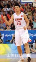 图文-[奥运会]中国男篮VS西班牙 姚明信心百倍