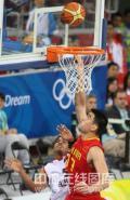 图文-[奥运会]中国男篮85-68安哥拉 姚明轻松得分