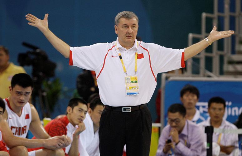 中国男篮VS德国