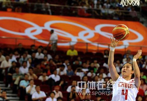 图文-[女篮]中国77-62白俄罗斯 陈晓丽罚篮