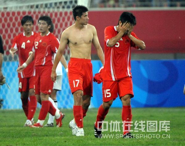 图文-中国国奥1-1战平新西兰 遗憾错失开门红