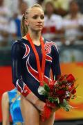 图文-奥运体操女子高低杠决赛 柳金遗憾获得银牌
