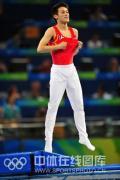 图文-[奥运]蹦床男子个人决赛 满意完美表演