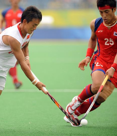 图文-[男子曲棍球]中国2比5负韩国 半路杀出