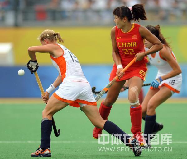 图文-女子曲棍球荷兰vs中国 灿烂的郁金香