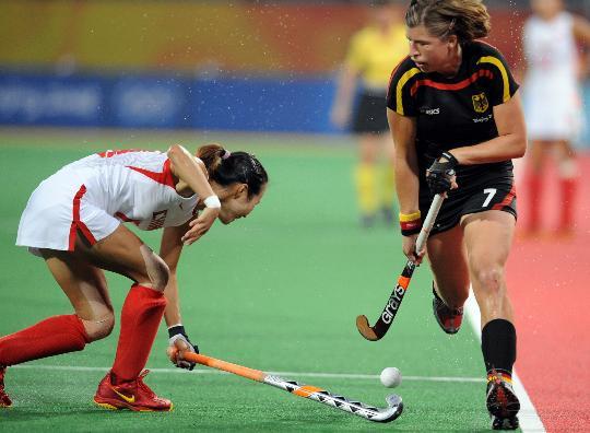 女曲半决赛中国胜德国
