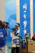 图文-埃蒙斯夺得北京奥运首金