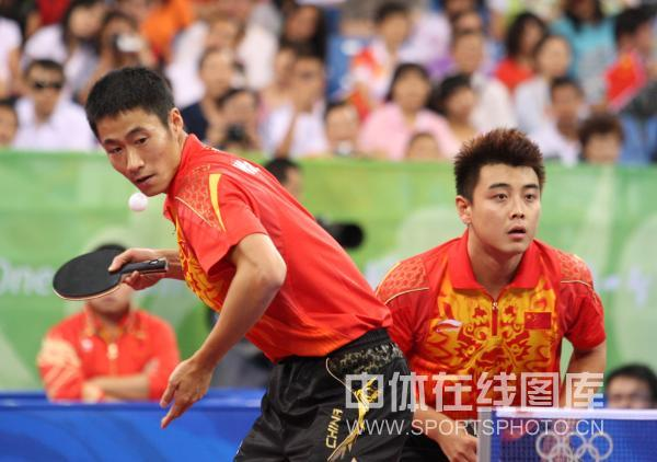乒乓球男子团体赛半决赛
