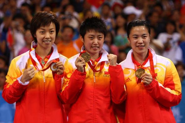 女乒团体赛中国夺金