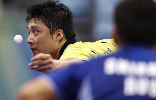 图文-奥运会男单第三轮赛况 日本韩阳晋级