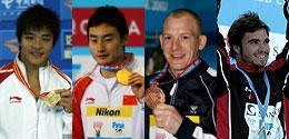 奥运三米板三王争锋