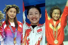 跳水梦之队有一最强招牌 三皇后谱奥运五连冠辉煌