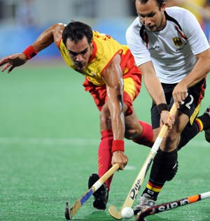 Germany wins Olympic men's hockey gold