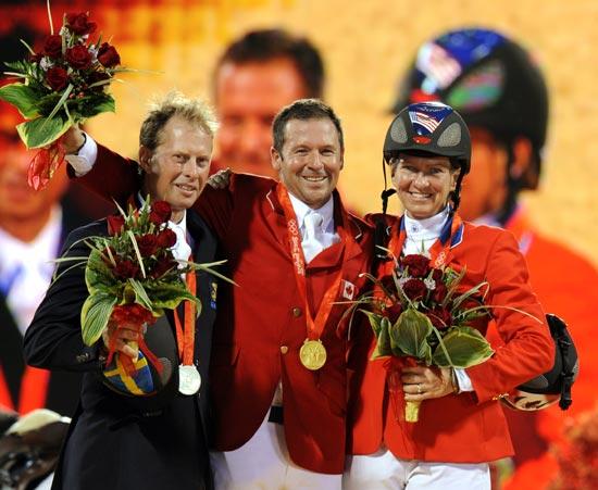 图文-[奥运]马术障碍赛个人 我们都是胜利者