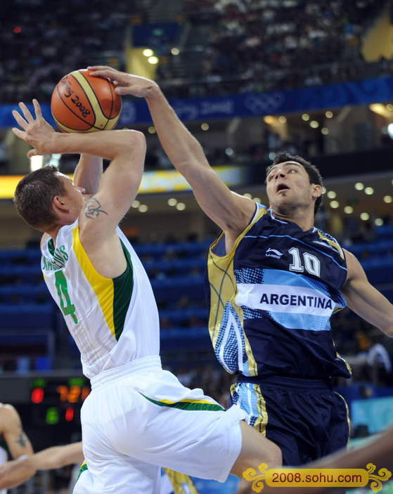 Argentina, bronce de baloncesto masculino