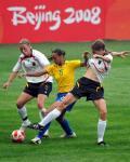 图文-[奥运会]德国女足0-0巴西 罗萨娜粗手的尴尬