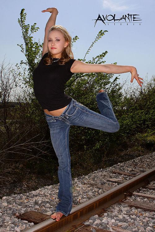图文-体操美女柳金写真 我要飞翔