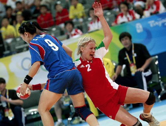 女子手球排名赛