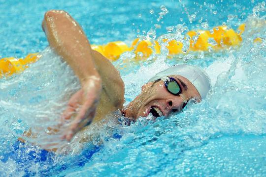 图文-男子200米自由泳半决赛赛况 意大利埃米利亚诺