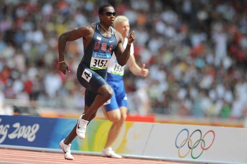 图文-奥运会男子200米预赛 肖恩的英姿