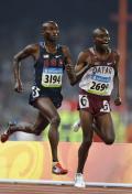 图文-奥运会男子5000米预赛 蓄势待发
