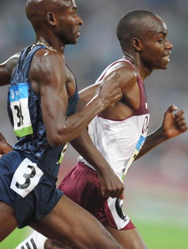 图文-奥运会男子5000米预赛 棋逢对手