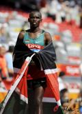 图文-奥运会男子马拉松决赛 国旗在身