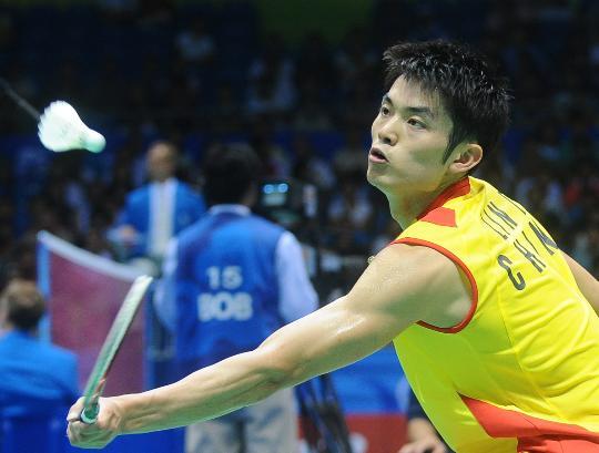 图文-羽毛球男单林丹顺利晋级 这球还能再简单点么
