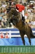 图文-17日马术比赛赛况 加拿大选手的精彩表演