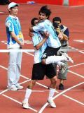 图文-男足阿根廷卫冕