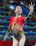 图文-江钰源获女子个人全能第六名 舞姿优美