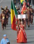 图文-奥运会运动员入场式 贝宁奥运代表团入场
