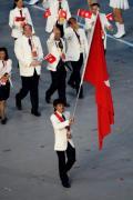 图文-北京奥运会开幕式入场式 中国香港代表团