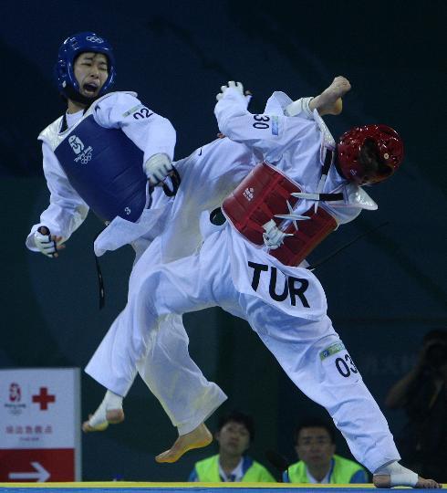 跆拳道女子57KG级韩国夺金