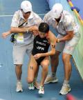 图文-女子组决赛尘埃落定 日本选手赛后体力不支