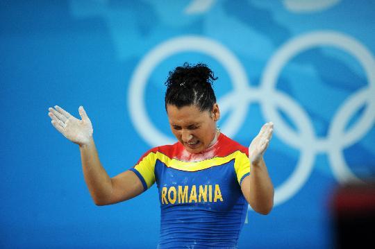 图文-举重女子58公斤级决赛赛况 科科什试举失败