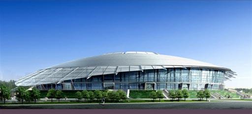 北京2008奥运场馆巡礼 北京工业大学体育馆