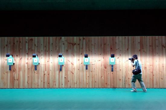 图文-北京奥运射击馆今验收交付 10米靶赛场