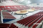 图文-奥运会摔跤体育馆农大收尾 座椅整齐明亮